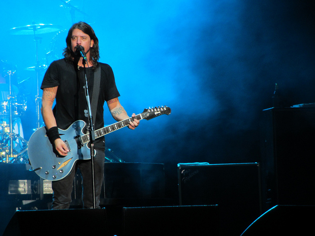 Foo Fighters David Grohl cc Edvill