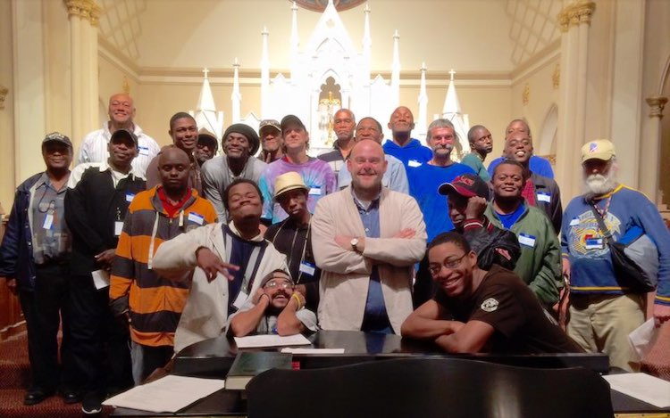 Homeless Choir to White House Facebook Homeward Choir