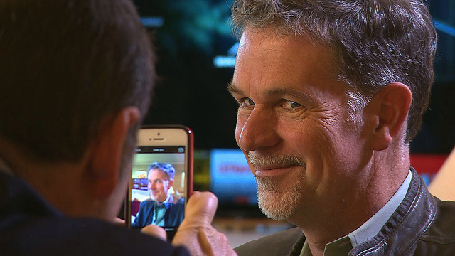 Reed Hastings CEO Netflix cc cellanr