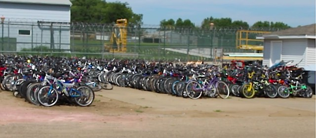 bikes-lined-up-South Dakota Department of Corrections-YOUTUBE