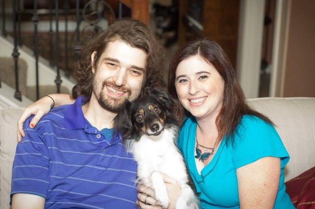 dan and ashley fleetwood with dog Facebook Ashley Fleetwood