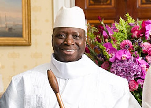 gambia president_Jammeh_WH-2014