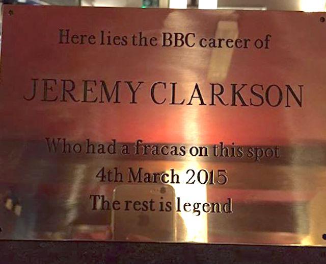 jeremy-clarkson-plaque-SimonstonHall-Facebook