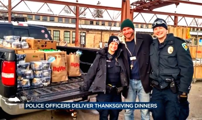 police-cops-deliver-food-WISC-youtube