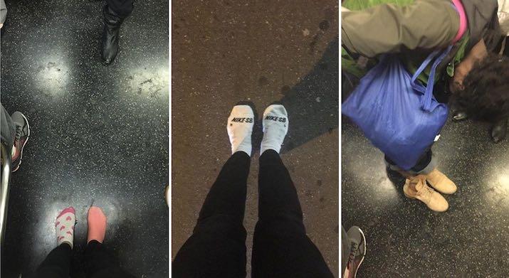 socks and shoes mashup social