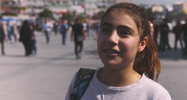 syrian girl-Freewheeling Stories-video-permission
