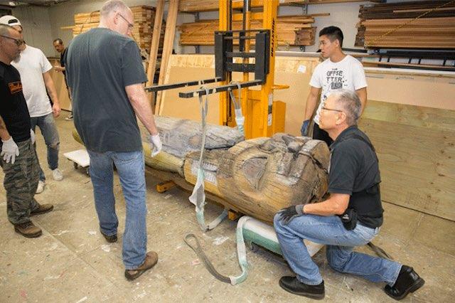 tlingit_pole-packing released Honolulu Museum of Art