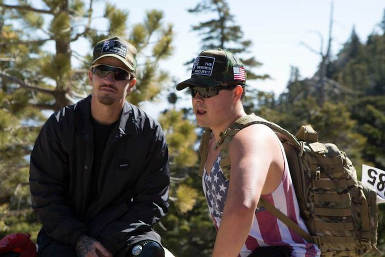 veterans hiking backpacks Heroes Project Facebook