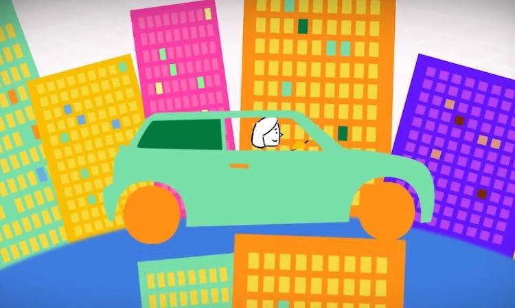 wheeliz car and buildings youtube video screenshot
