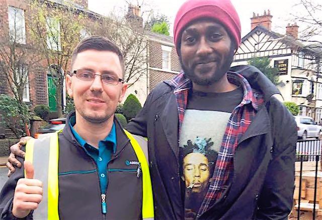 Bus driver reward Facebook Faris Khalifa
