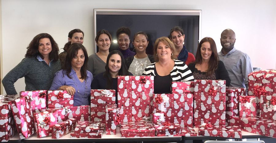 Cavignac & Associates Gift Wrapping Event