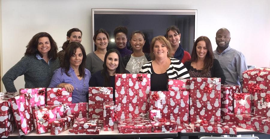 Cavignac & Associates Gift Wrapping Event