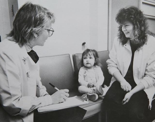 Child cares for nurse Fair Use Children's Nurse Magazine