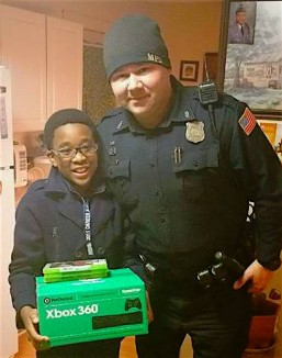 Cop kid xbox Facebook Memphis PD