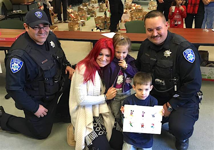Cops Send Family to Disneyland Facebook Antioch PD