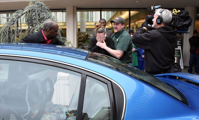 Couple surprised with New Car Facebook Jesse Jones