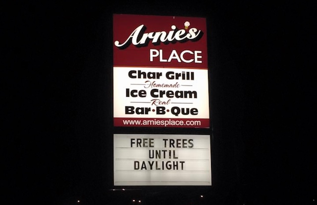 FREE Trees FB Arnies Place