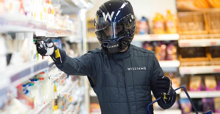 Formula 1 Shopper released Williams F1