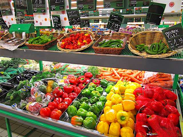 French Produce Section CC francois schnell
