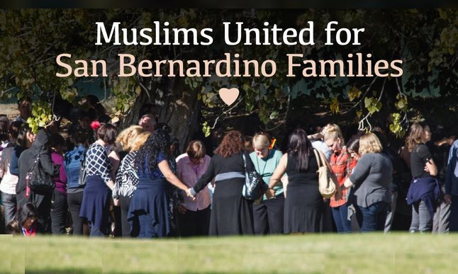 Muslims United for San Bernardino Families-fundraising page