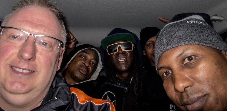 Public Enemy hitches a ride Facebook Kevin Wells