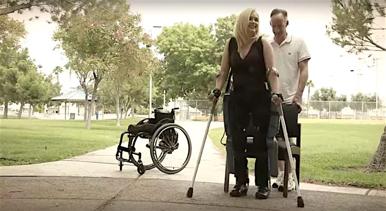 ReWalk Robotic Legs screenshot YouTube ReWalk