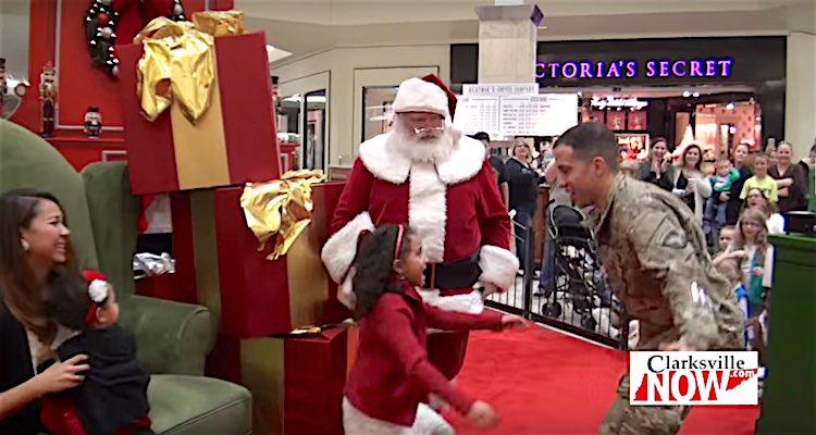 Santa Soldier Surprise screenshot ClarksvilleNow