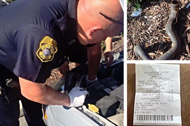 Tampa Police help Facebook Justine Bowen