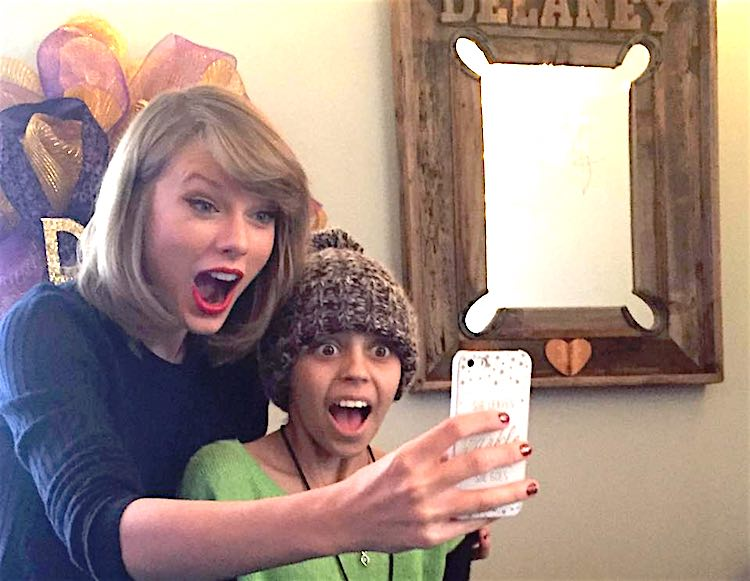 Taylor Swift and Delaney Facebook Wendy Campbell