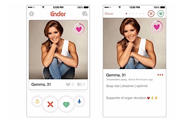 Tinder Organ Donor 1 screenshot Tinder UK