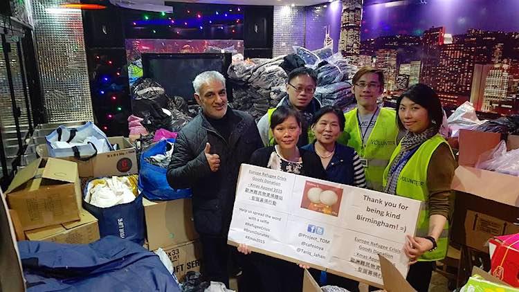 Vietnamese Boat People refugee donation Facebook Cafe Soya