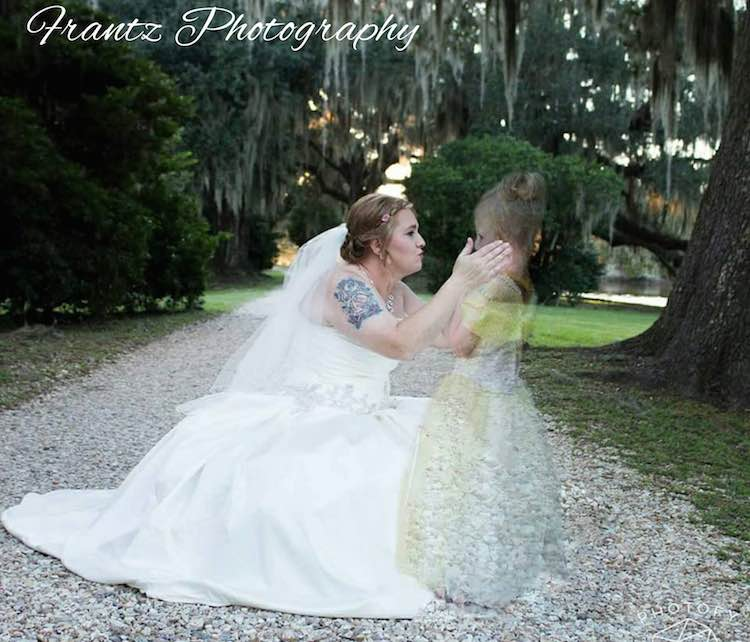 bride with ghost dauther-Frantz Photography-FB