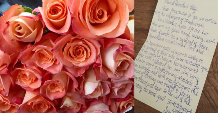 roses-and-note to planned parenthoos-Sarah-Parker-submitted-750px