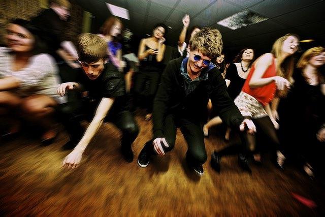 teen party CC Tim Simpson