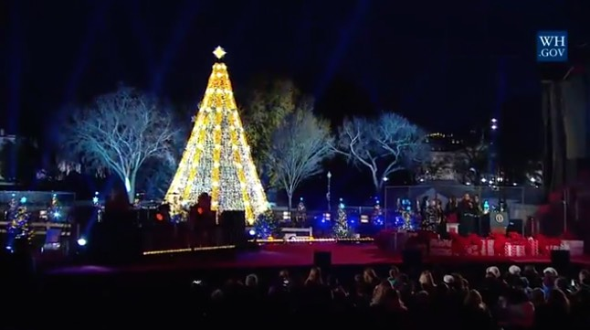 white house christmas tree-WHvideo