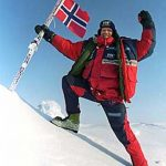 Borge Ousland Norway flag