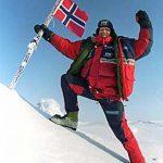 Borge Ousland Norway flag