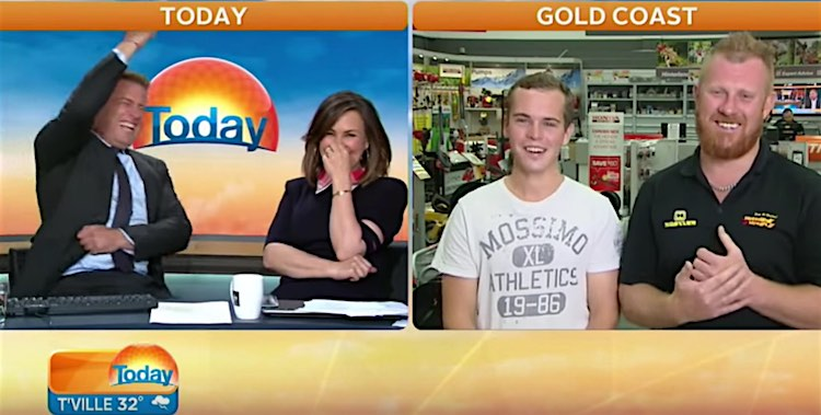 Busted Pluggers Crime Fighting Drunk Aussies screenshot Today Show - Australia