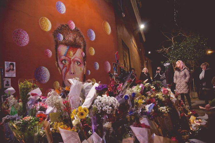 David Bowie Mural CC Marcin Cajzer