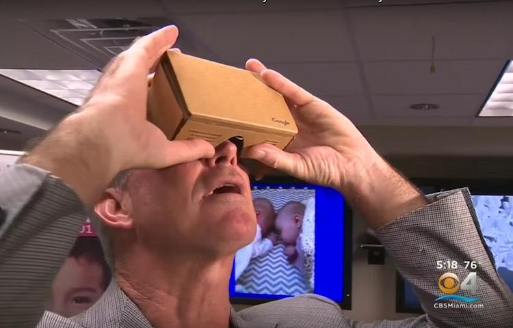 Dr Redmond Burke Google Cardboard 2 screenshot WFOR