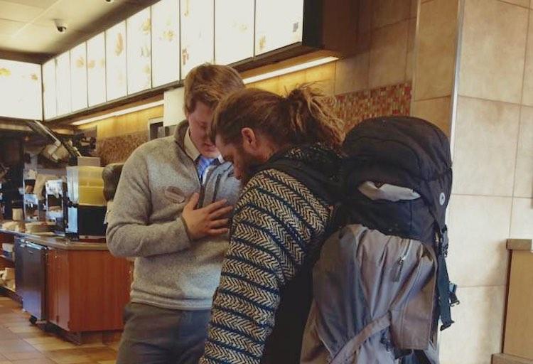 FEATURED Chick-Fil-A homeless FB JoeynKaren Mustain