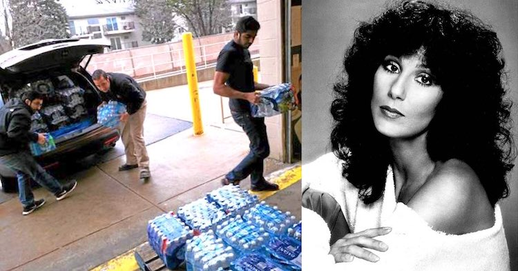 Flint Water released photos AMYA Michigan and Cher