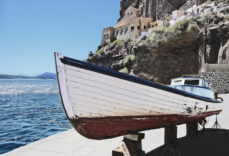 Greek Fishing Village cc Rennett Stowe