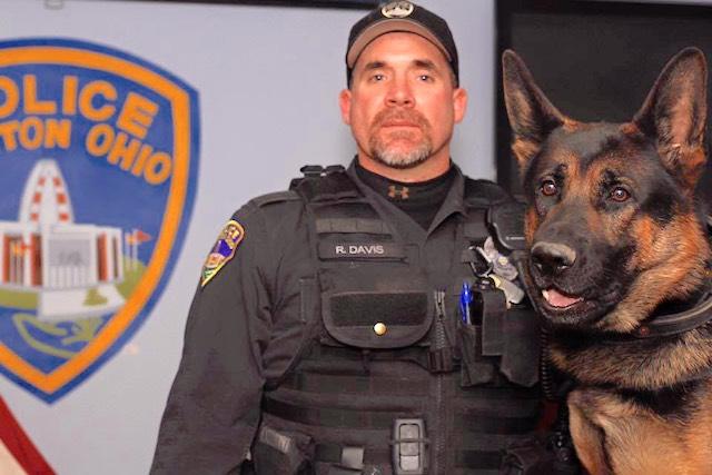 Jethro and Officer Davis FB Canton Ohio PD