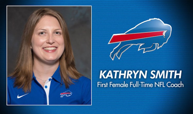 Kathryn Smith Buffalos Coach released Buffalo Bills