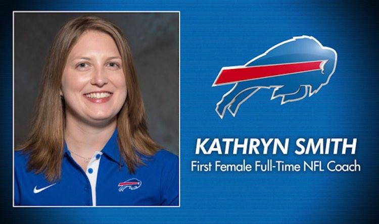Kathryn Smith Buffalos Coach released Buffalo Bills