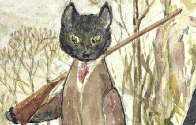 Kitty in Boots Beatrix Potter Victoria and Albert Museum