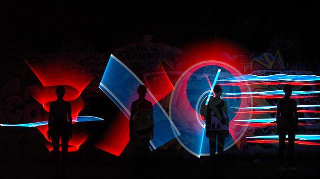 Neon Silhouettes - CC Duane Schoon
