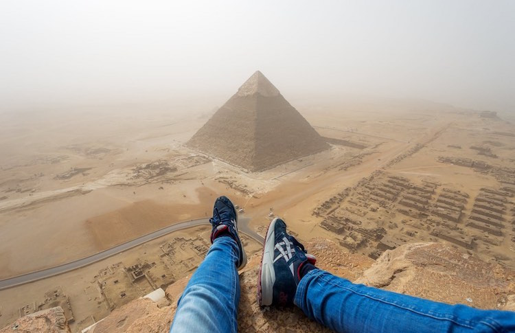 Photo atop the Pyramids 2 FB Andrej Ciesielski