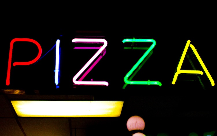 Pizza Neon Sign CC Thomas Hawk